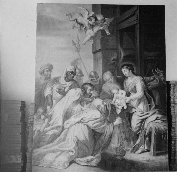 tableau : l'Adoration des Mages