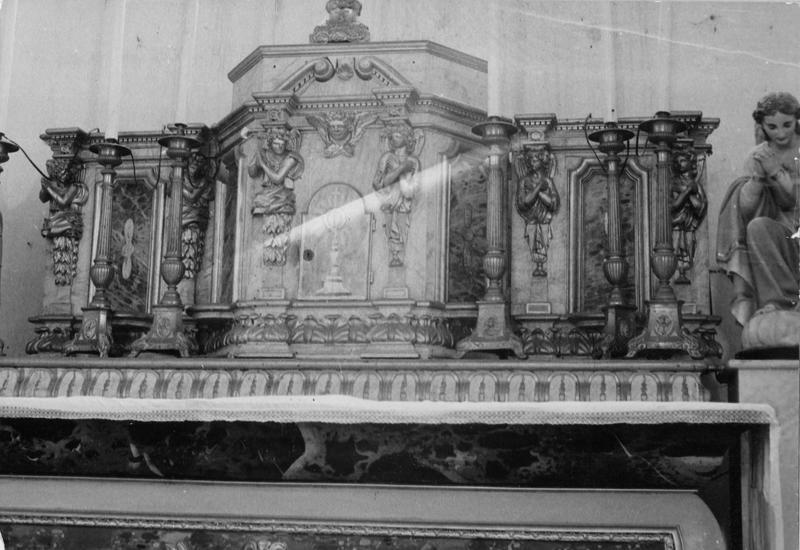autel, gradin, tabernacle (maître-autel)