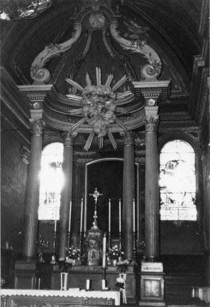 baldaquin, autel, tabernacle (maître-autel)