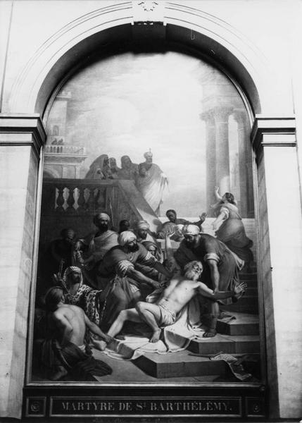 tableau : Le Martyre de saint Barthélémy