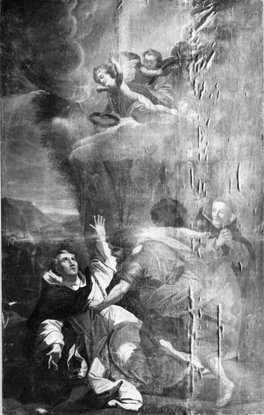 tableau : le Martyre de saint Pierre de Vérone