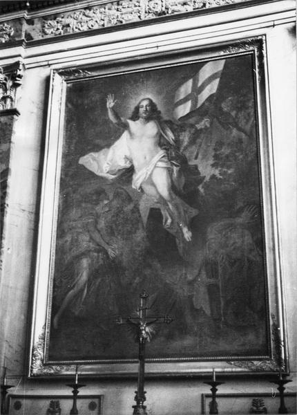 tableau : le Christ ressuscité