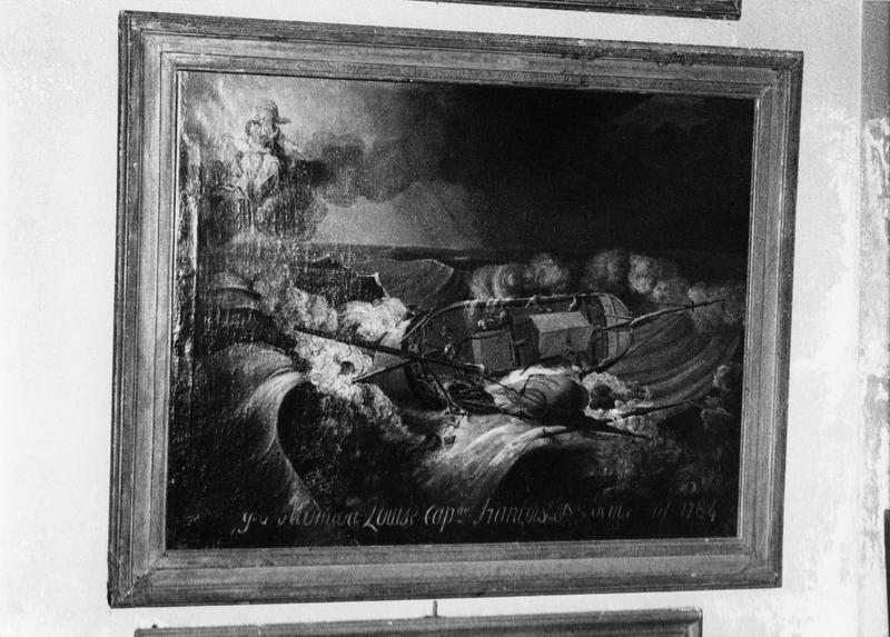 ex-voto, tableau : le saint Pierre