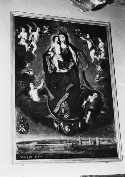 ex-voto, tableau : la Notre-Dame du port de salut