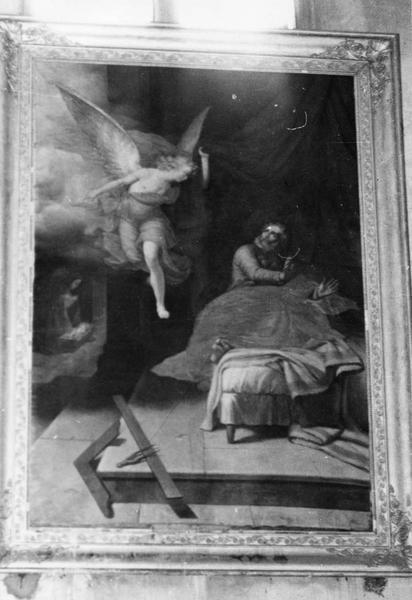 tableau : le songe de saint Joseph