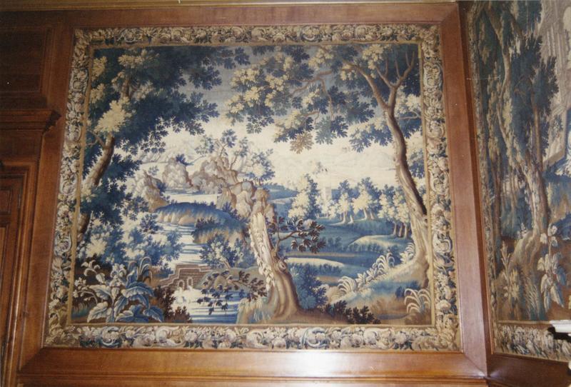 pièce murale : verdures, paysages et animaux