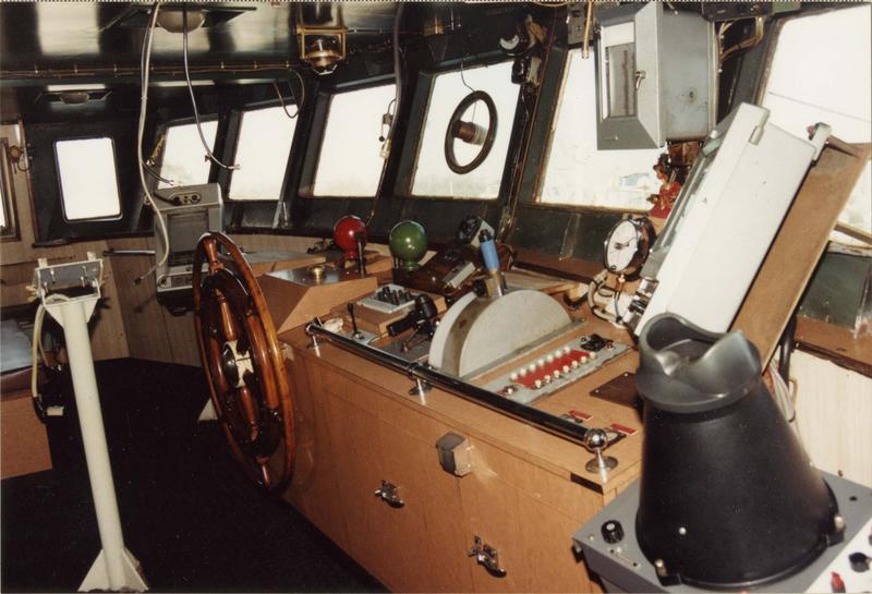 Bateau de pêche au filet (chalutier pêche arrière), dit Angoumois, intérieur