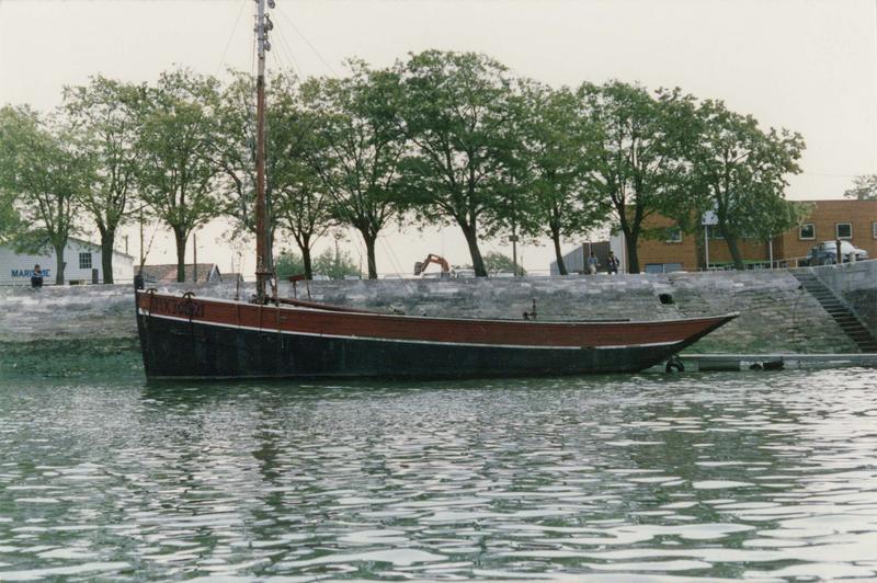 bateau de charge (gabarre), dit Audiernais