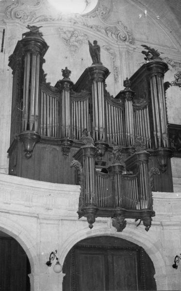 Orgue de choeur : buffet d'orgue