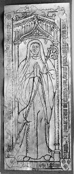 dalle funéraire de François d' Ardillon