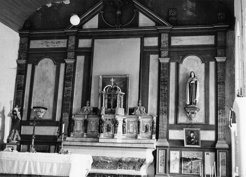 autel, tabernacle, exposition (maître-autel)