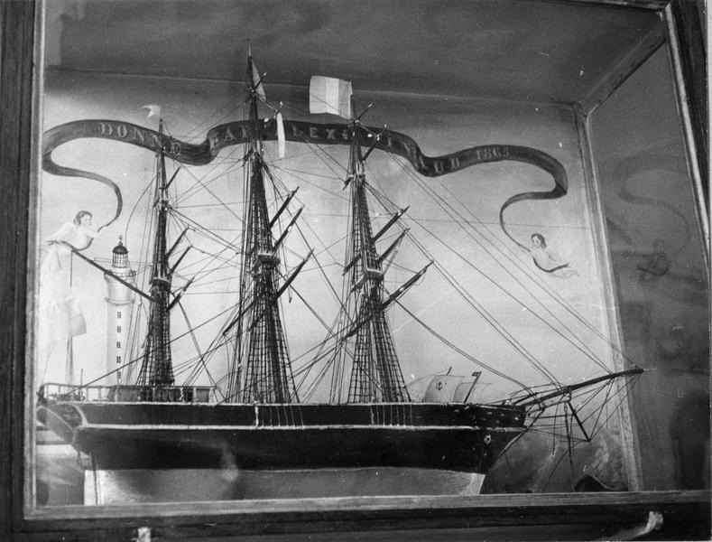 ex-voto, maquette (navire)