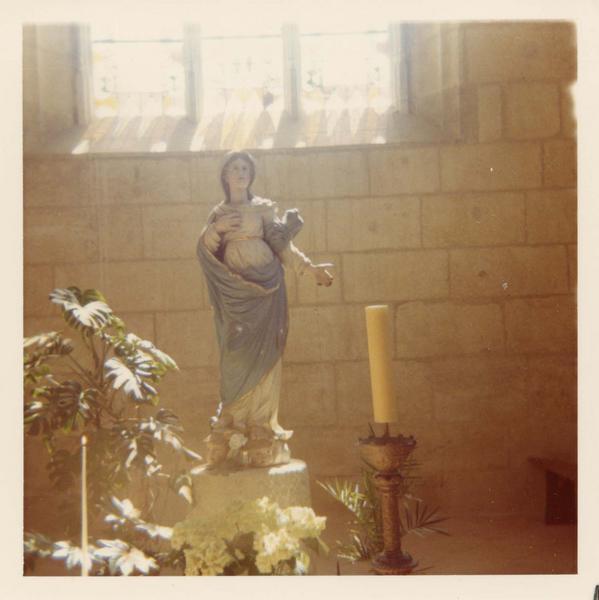 statue (grandeur nature) : Vierge
