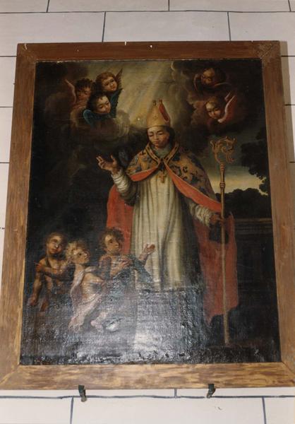 tableau : saint Nicolas et les enfants dans le saloir