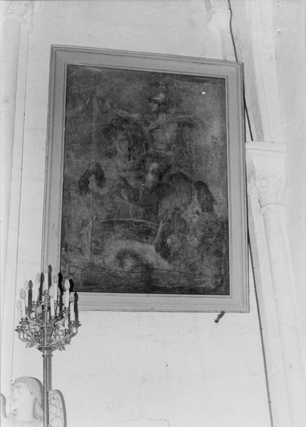 tableau : saint Georges à cheval