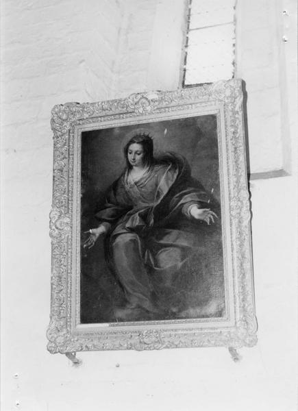 tableau, cadre : sainte Catherine
