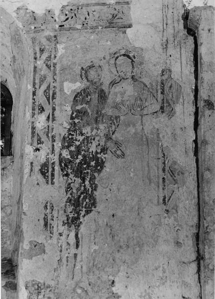 peinture monumentale : le Baptême du Christ