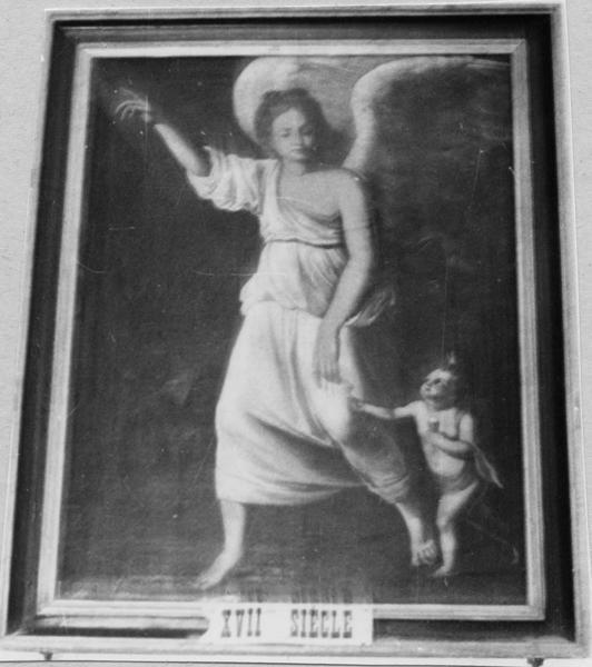 tableau : L'Archange Gabriel guidant Tobie, ou L'ange gardien