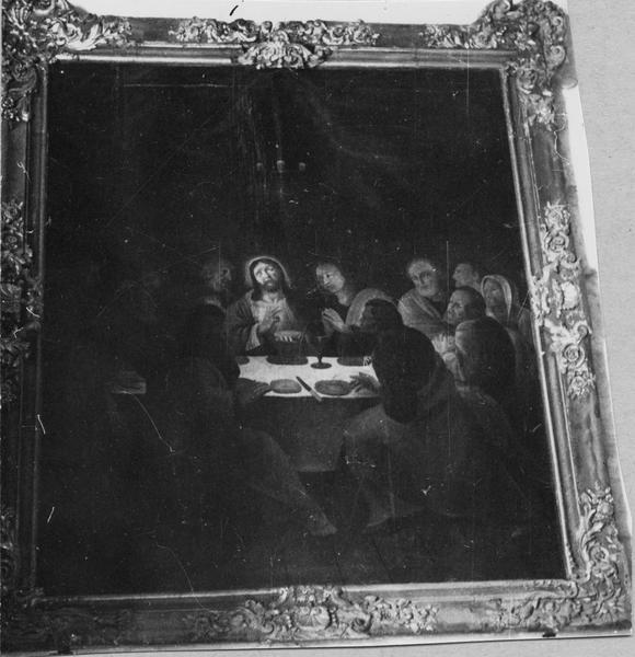 tableau : Institution de l'Eucharistie