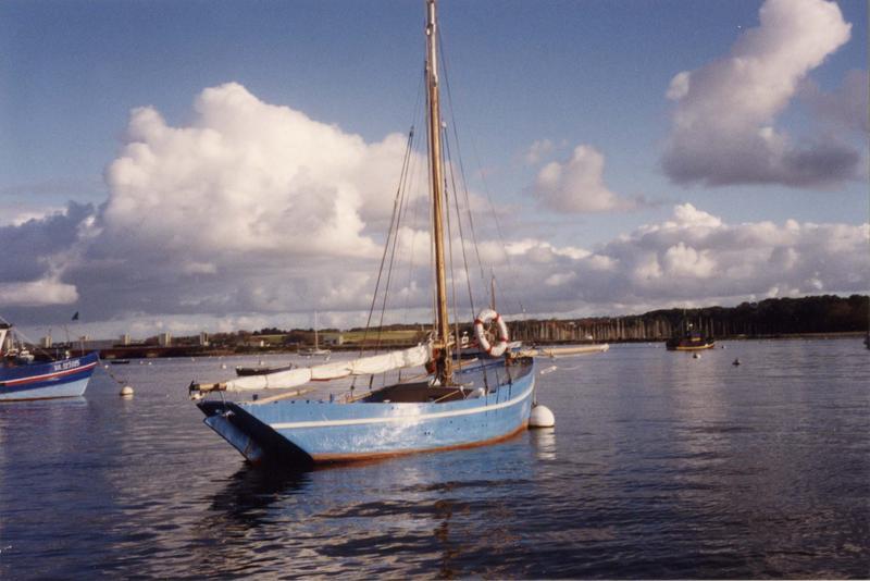 Bateau de pêche au filet, bateau de pêche aux casiers (cotre caseyeur), dit Joujou à Pépé