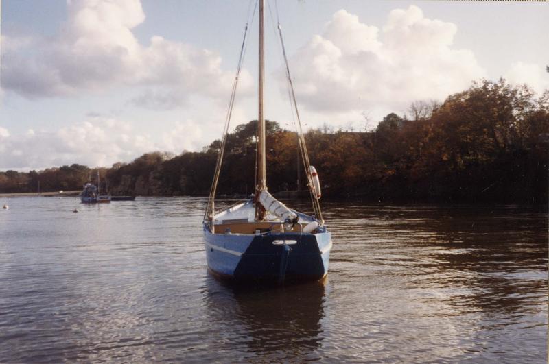 bateau de pêche au filet puis bateau de pêche aux casiers : cotre caseyeur dit Joujou à Pépé