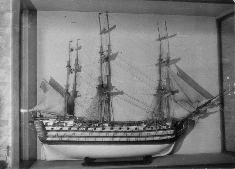 maquette : du navire Victory