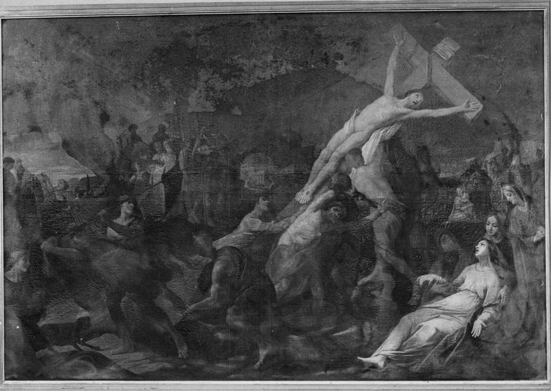 Tableau : L'Elévation de la Croix