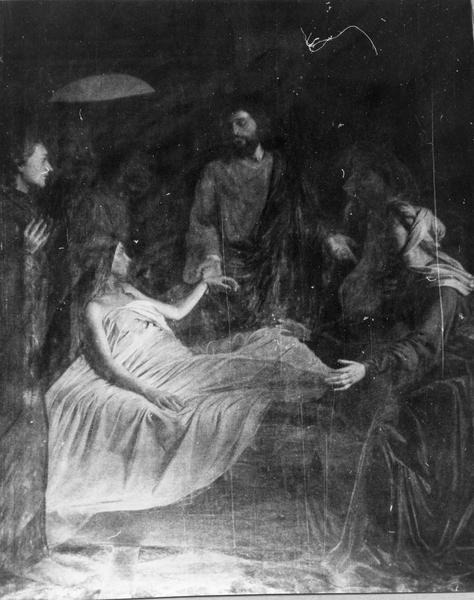 tableau : La Résurrection de la fille de Jaïre