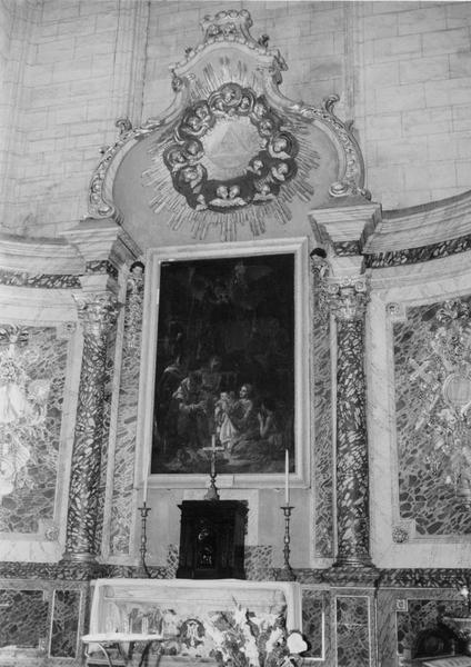 tableau : la Naissance de la Vierge