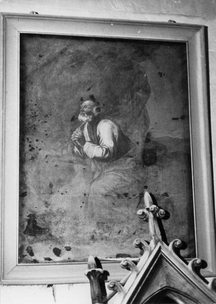 tableau : saint Pierre en prière