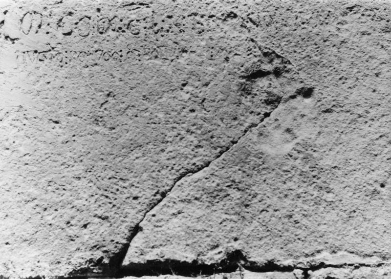 inscription au mur