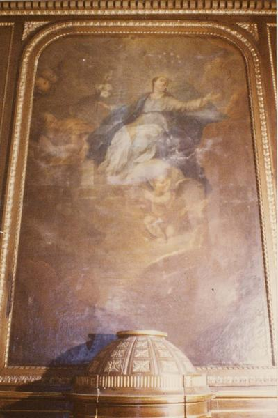tableau : l' Assomption de la Vierge