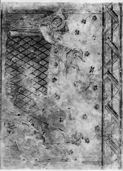 Peinture monumentale : Adoration des Mages