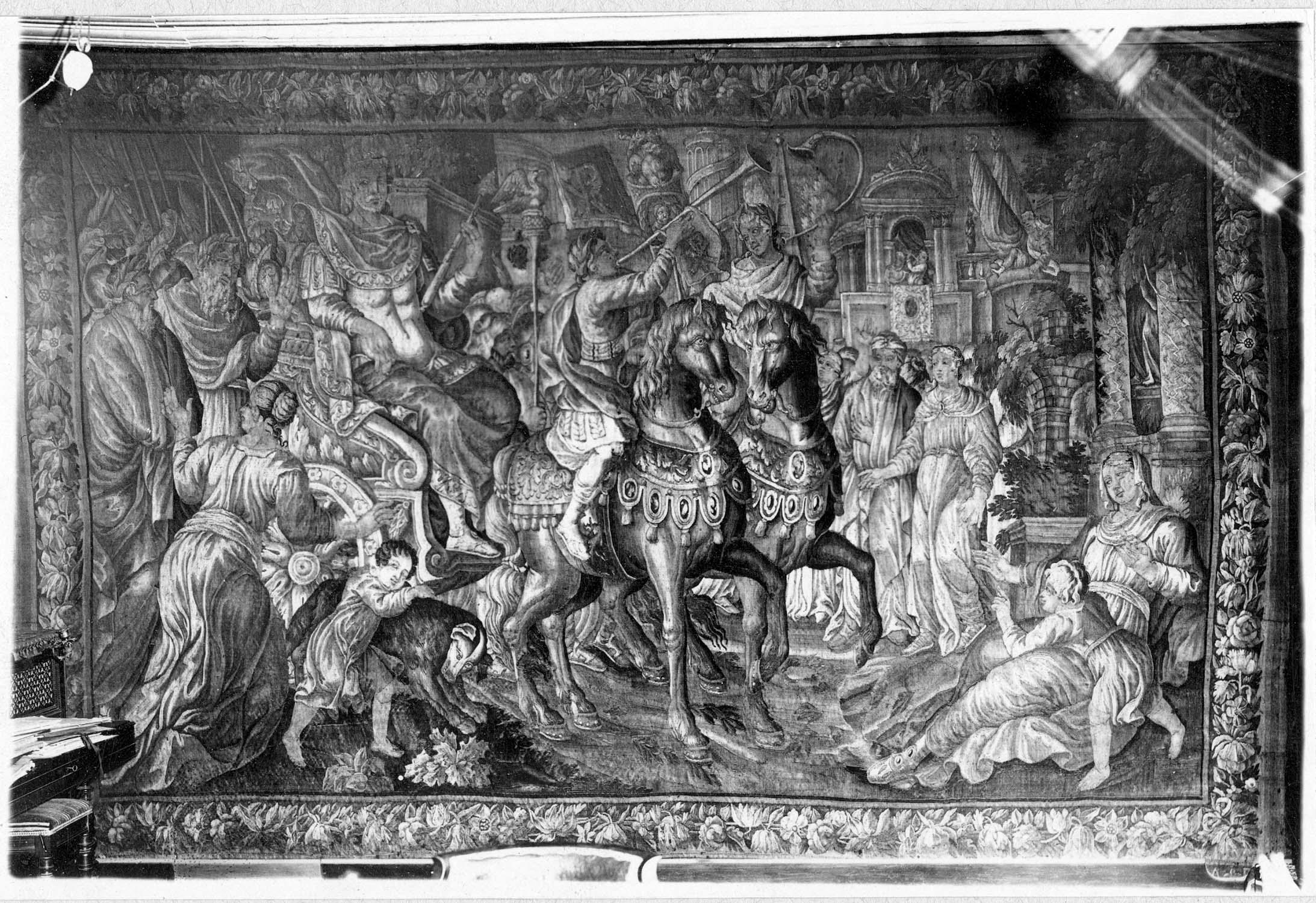 Pièce murale : le Triomphe de Constantin