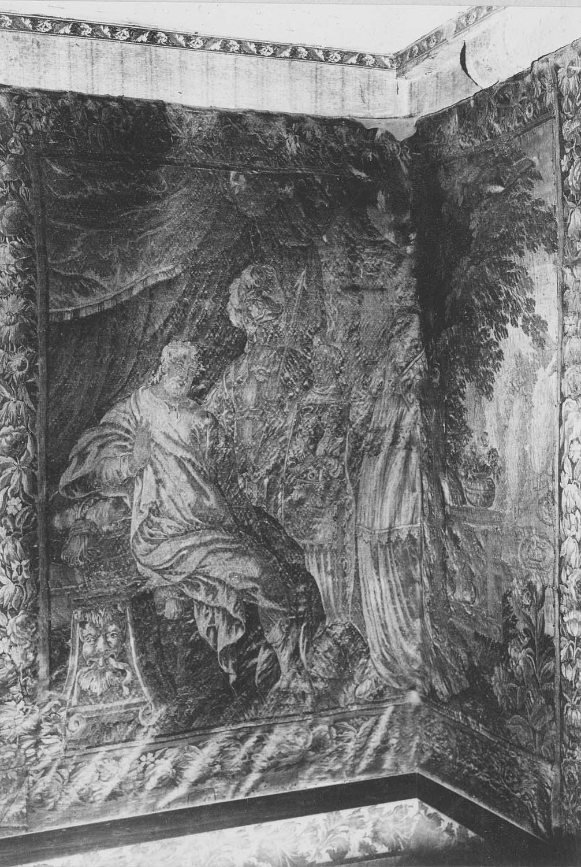 Pièce murale : la Rencontre de Constantin avec le pape