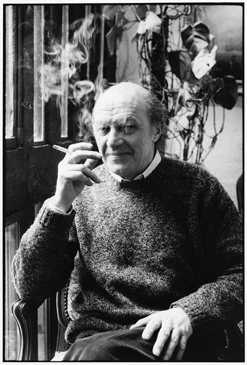 Maurice Pons, moulin d'Andé (Eure), 1985