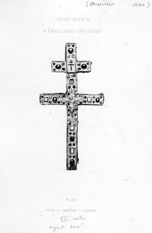 croix-reliquaire (croix-reliquaire à double traverse)