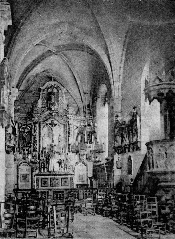 Ensemble du maître-autel (autel, 2 gradins, tabernacle, exposition, retable)