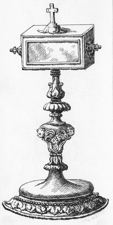 reliquaire de saint Eutrope