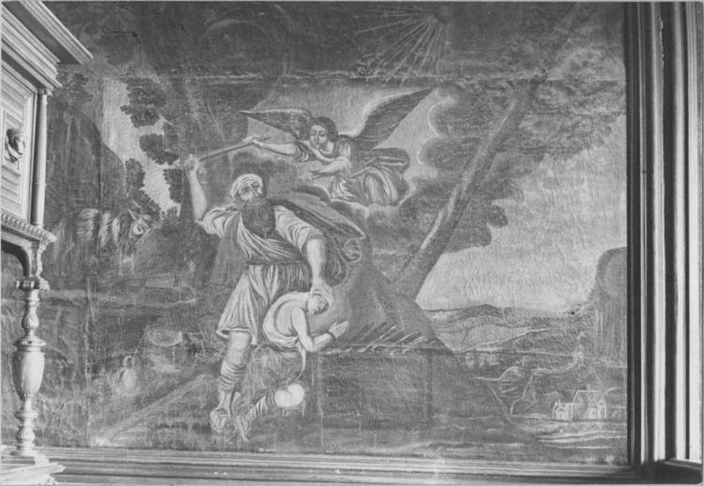 Peinture : le Sacrifice d'Abraham