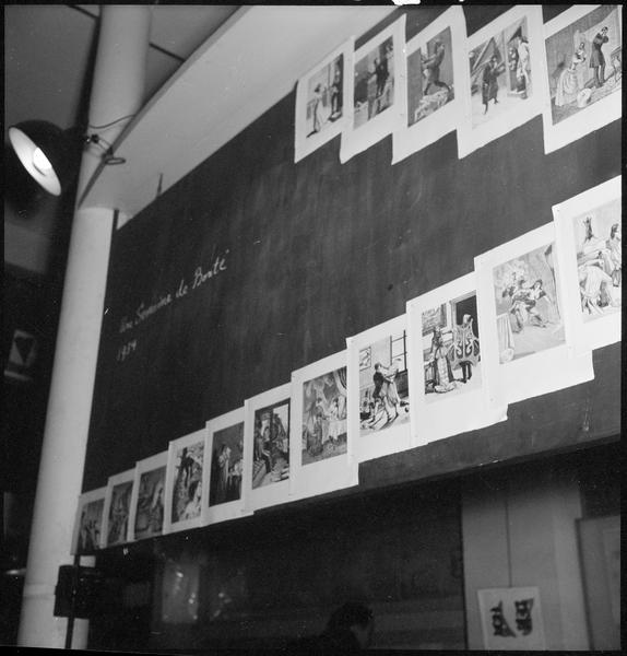 [Exposition Max Ernst, janvier à février 1950 : 'Une semaine de bonté', extrait]