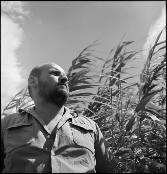 [Portrait de Georges Romathier, vallée des Baux]