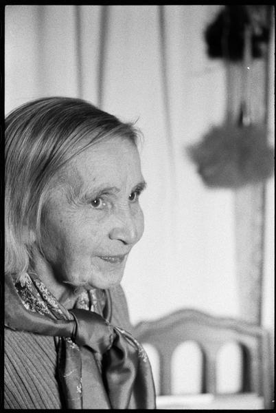 [Portrait de Natalia Gontcharova]