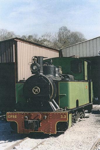 Locomotive à vapeur 030T Couillet