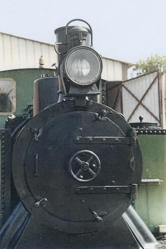 Locomotive à vapeur 030T Couillet, face avant