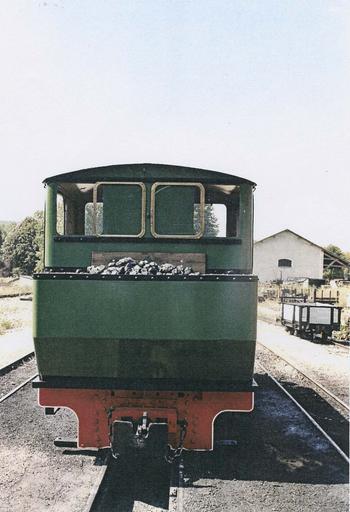 Locomotive à vapeur 030T Couillet, face arrière