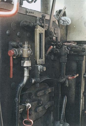 Locomotive à vapeur 030T Couillet, cabine
