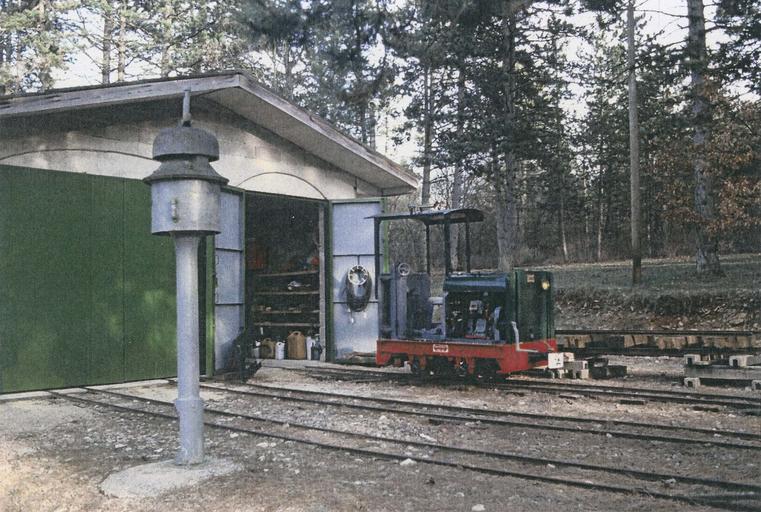 Locomotive (locotracteur) Pétolat 020, vue d'ensemble