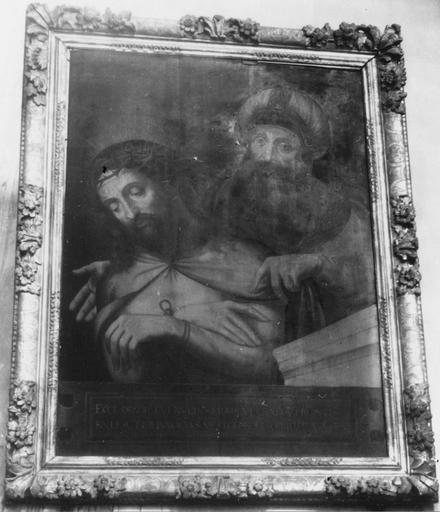 Tableau : Ecce Homo, huile sur toile