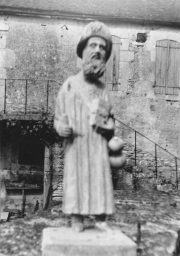 Statue : saint Jacques, bois, fin 16e siècle